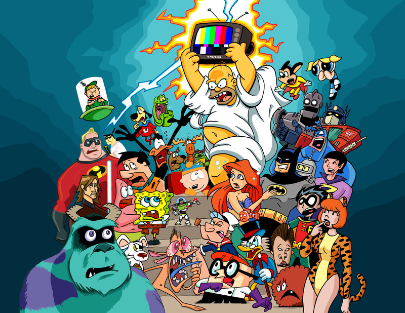 Top 5 Cartoon Characters : Top all time most popular cartoons characters