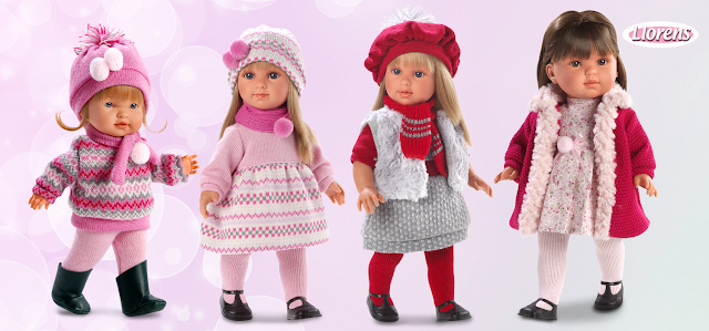 Muñecas clásicas Llorens - Blog Mamá de Noa