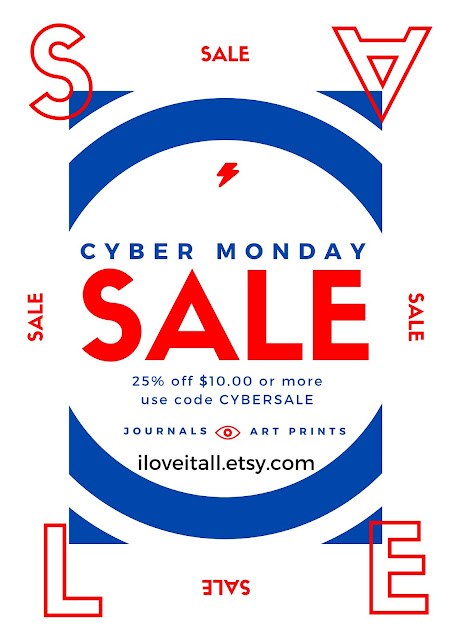 #cybermonday #sale #etsy #iloveitall