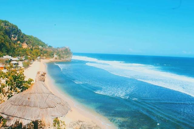 Paket wisata jogja - pantai pok tunggal gunung kidul