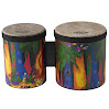 Remo Kids Percussion Bongo Drum - Fabric Rain Forest