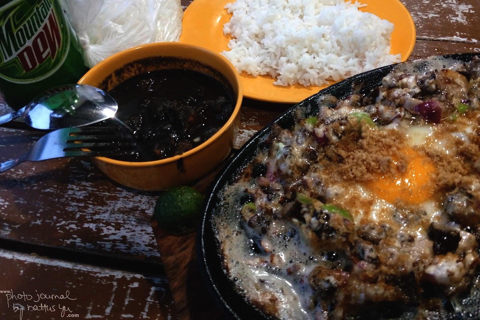 Tita Lulu's Crispy Dinuguan and Creamy Sisig