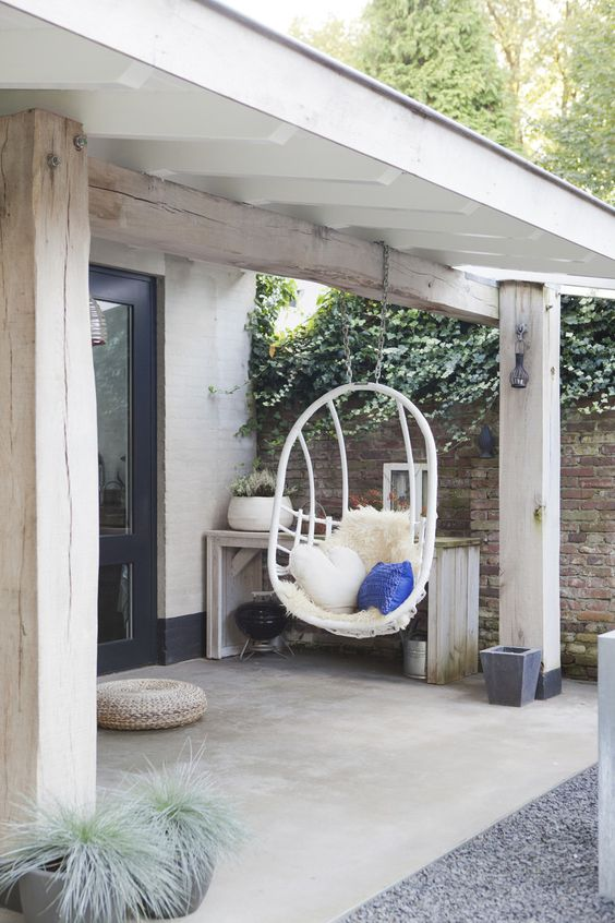 10 balancines perfectos para jardin y terraza cocochicdeco - Balancines de jardin baratos ...