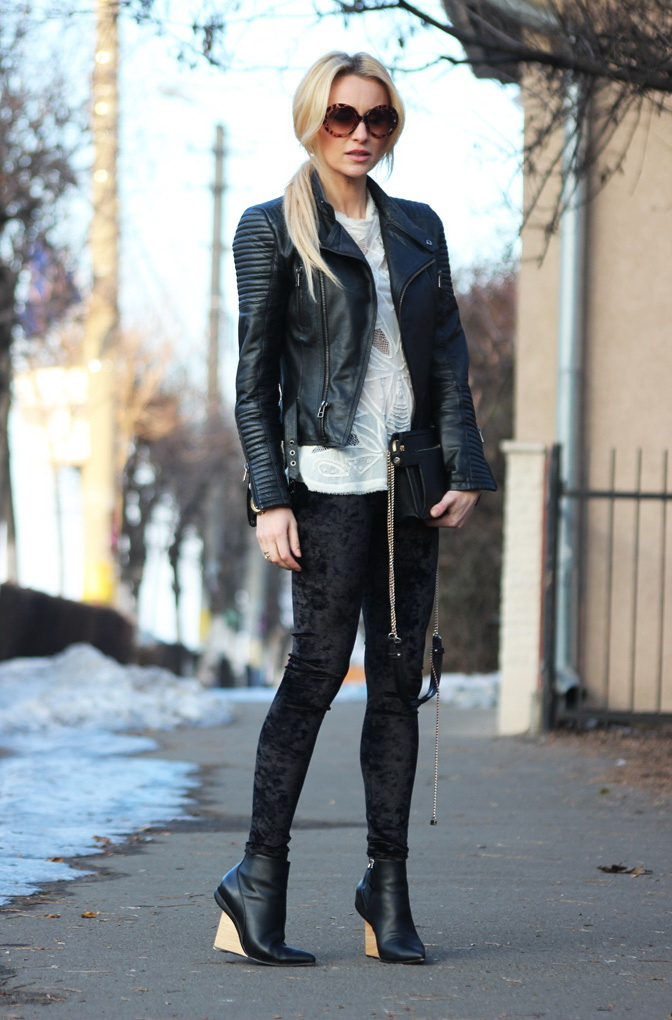 62+ Style Tips On How To Wear A Leather Jacket