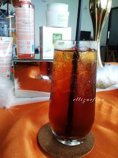 ice tea at cielo resto aston jogja