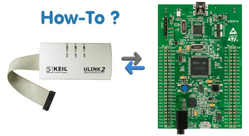 STM32 Project Consulting: STM32F4 Discovery and ULINK2
