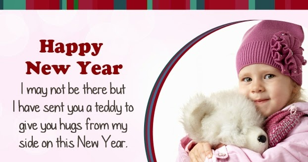 New Year 2016 SMS for Kids