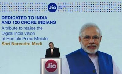 Reliance, Jio, 4G Service Company, PM Modi, Prime Minister India, Narendra Modi, Mukesh Ambani