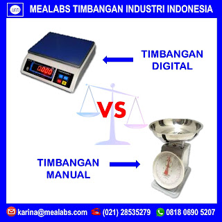 Timbangan Digital & Timbangan Manual