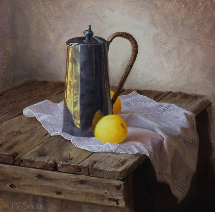 Живопись маслом. Katherine Stone