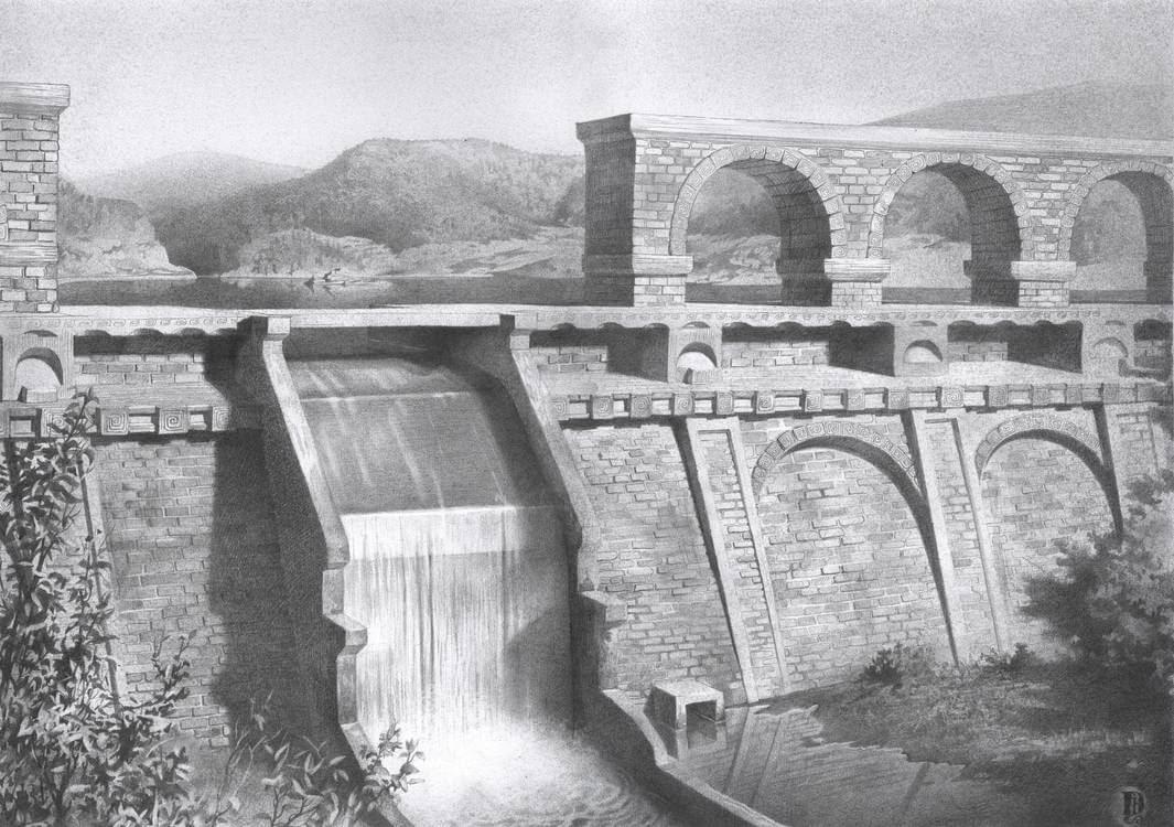 10-Dam-Denis-Chernov-Urban-Architecture-Pencil-Drawings-www-designstack-co