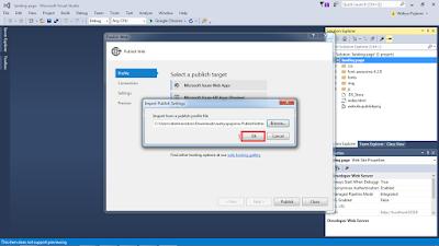 vs5 - Cara Upload Website ke Microsoft Azure melalui Visual Studio 2015
