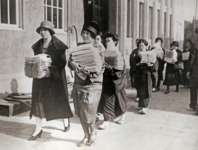 Protesta mujeres japonesas