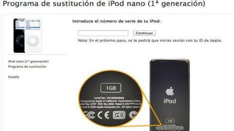 Apple agota stocks iPod nano de 1ª generación
