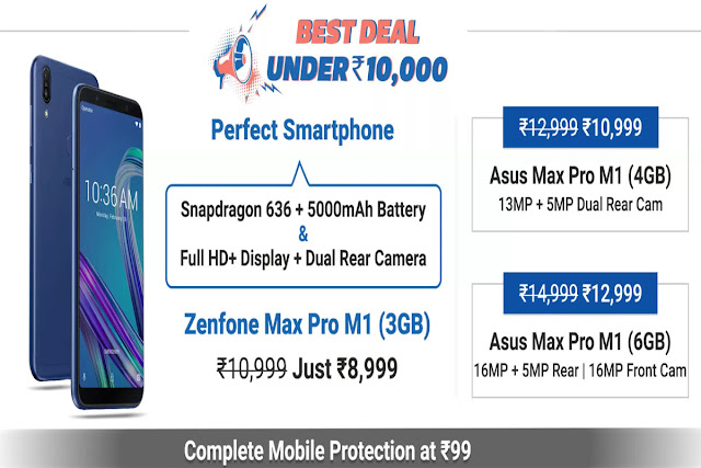 Asus Days: 9th-11th January Irresistible Deals Get Upto Rs 8000 Off On Asus Smartphones