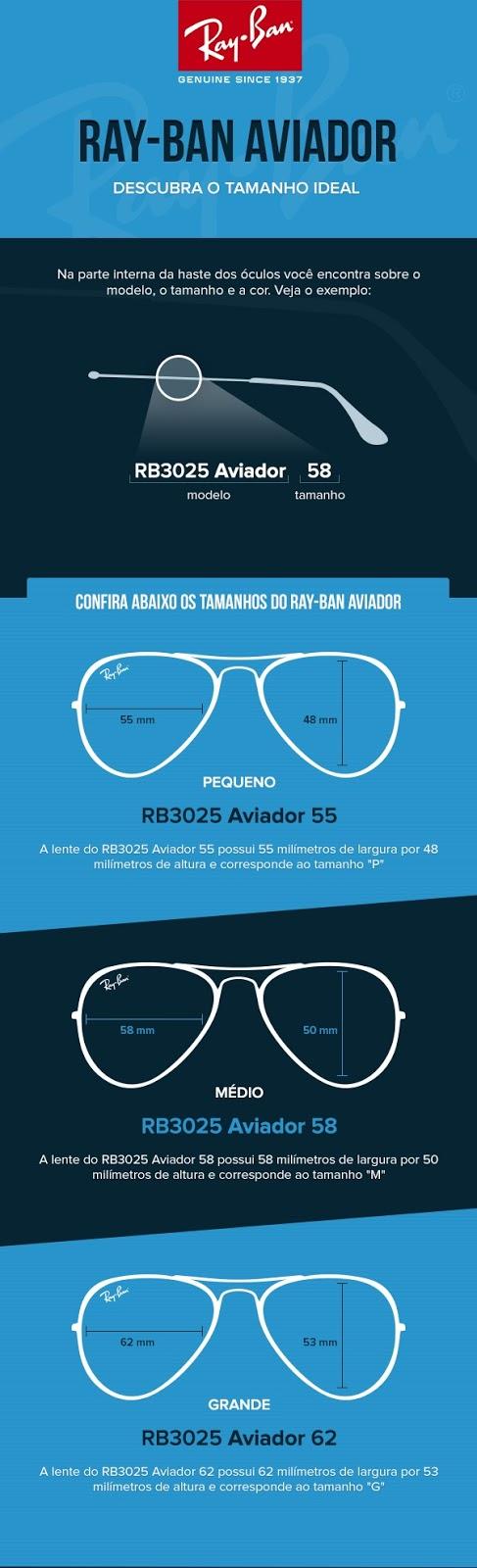 MODA PRAIA BLOG  óculos Ray-Ban RB3025 Aviador - COMO ESCOLHER b5580c6429