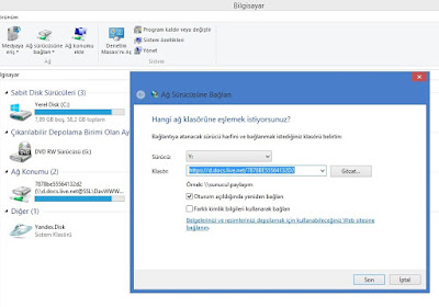 SkyDrive, Yandex.Disk, Box.Net Hesaplarınızı Bilgisayarınıza Sürücü Olarak Ekleyin