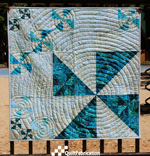 A Smaller Big Spin quilt