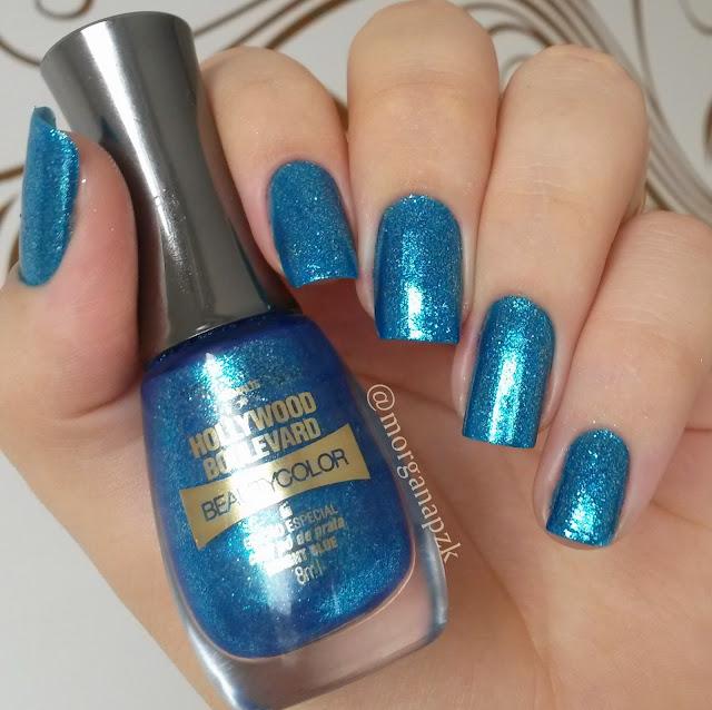 Bright Blue da Beauty Color - Hollywood Boulevard