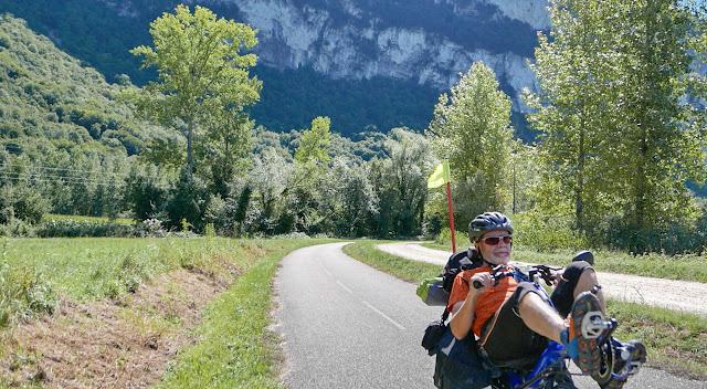 Voyage à vélo de la Bourgogne à la Provence, ViaRhôna
