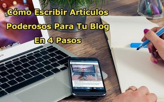 Escribir Un Buen Artículo Para Tu Blog y Sus Lectores