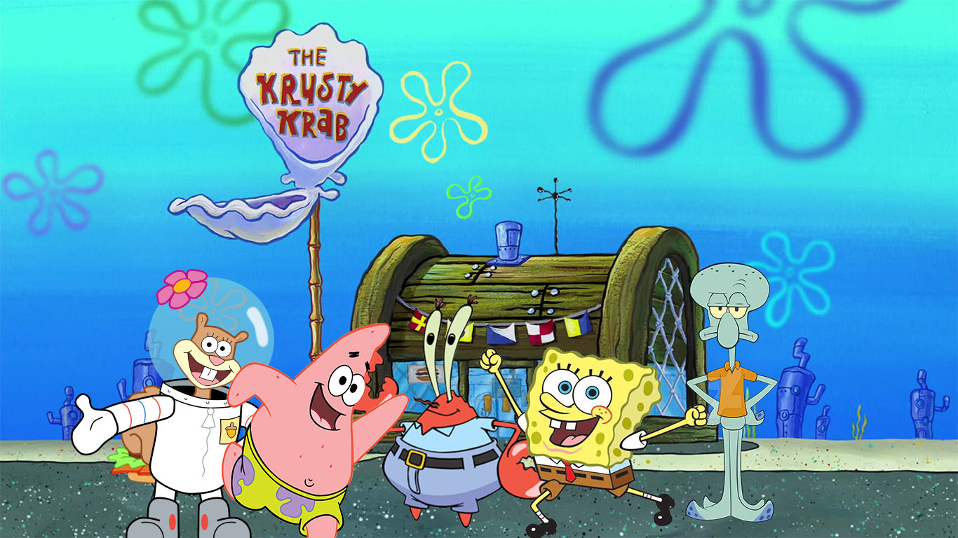 Krusty Krab Spongebob Squarepants