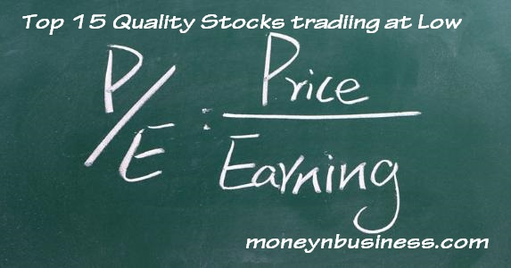 Image: Latest List of Top 10 Quality Stocks trading at Low P/E