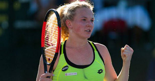 Carla Suárez does not raise her head: loses before the young Siniakova