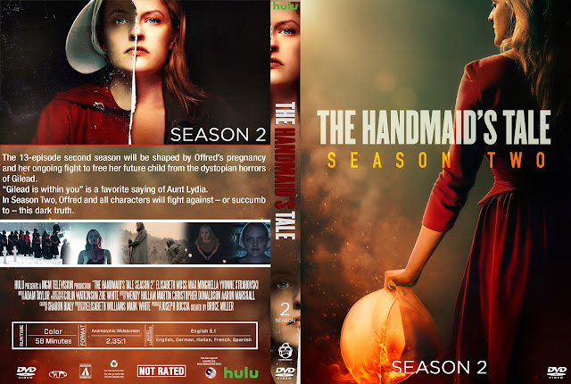 The Handmaid's Tale Season 2 DVD Cover
