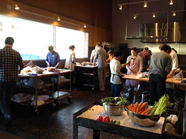 Niniane\'s Blog: Kitchen on Fire! cooking class