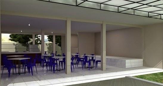 JASA INTERIOR EKSTERIOR 3D Desain Interior Kantin Rapih Nyaman Ruang Tunggu Duduk Tiduran Sopir