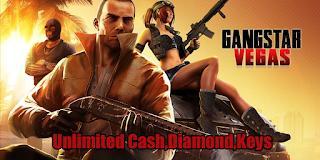 Gangstar Vegas: World of Crime Hack MOD Unlimited Diamonds Cash