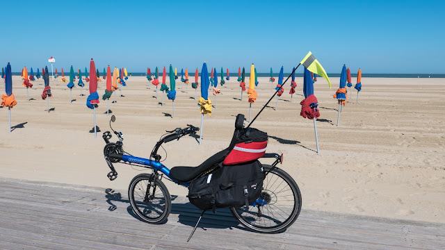 Randonnée à vélo : Deauville