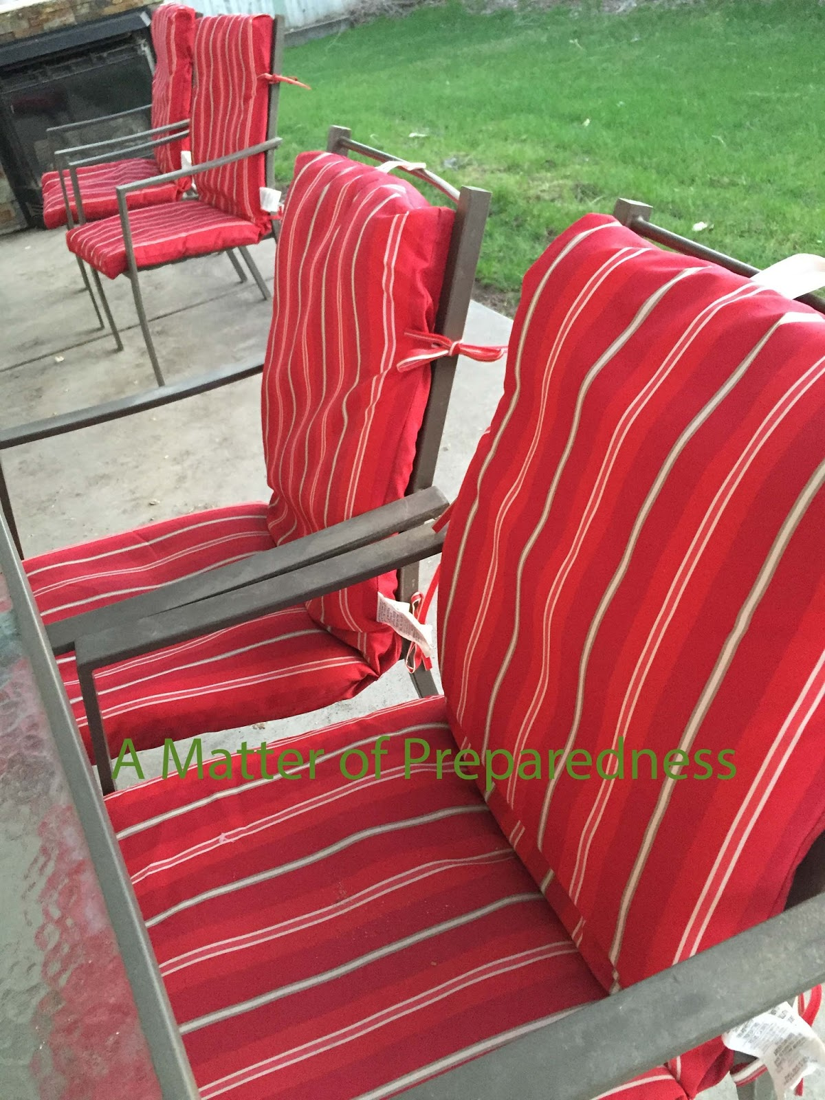 Its a Matter of Spring Cleaning Patio Furniture Pads LDS & Mormon Blog