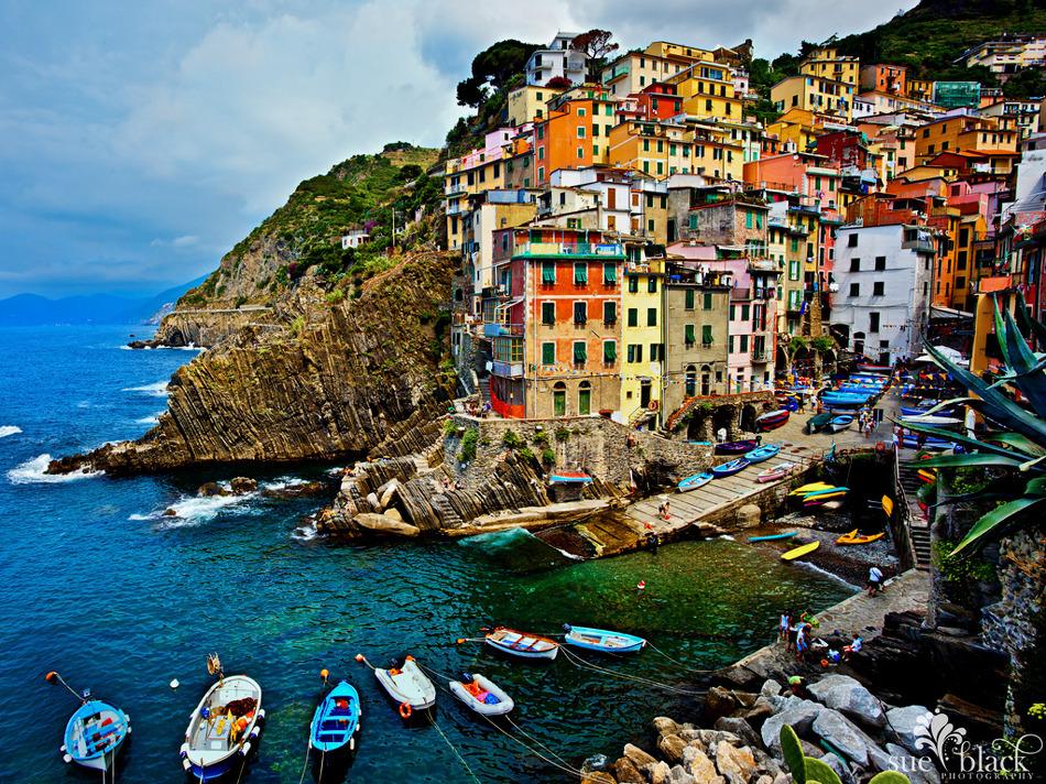 Riomaggiore Italy Beautiful Coastal Village