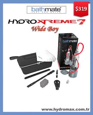Bathmate Hydroxtreme 7 Wide Boy - Standard fat size hydro penis pump