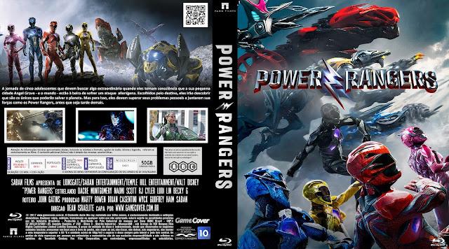 Capa Bluray Power Rangers 2017 [Exclusiva]