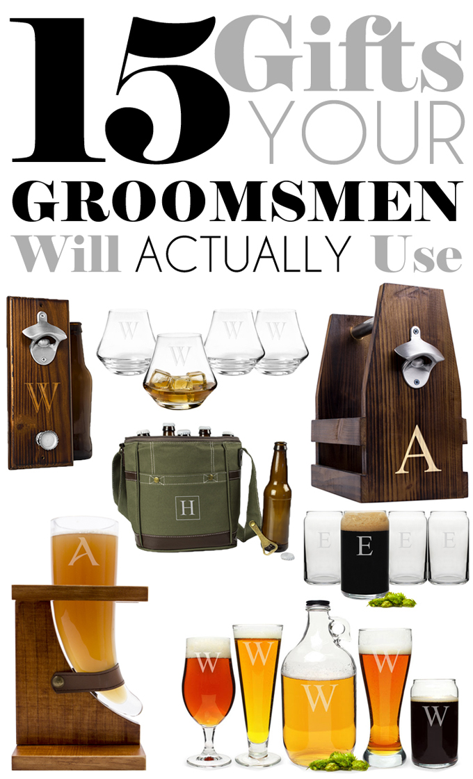 Groomsmen Wedding Gift: 15 Gifts Your Groomsmen Will Actually Use
