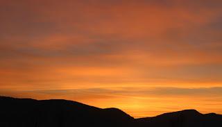 Beautiful early morning sky
