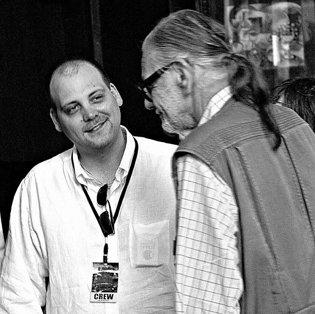 George Cameron Romero con il padre