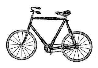 bike bicycle image illustration drawing artwork clipart