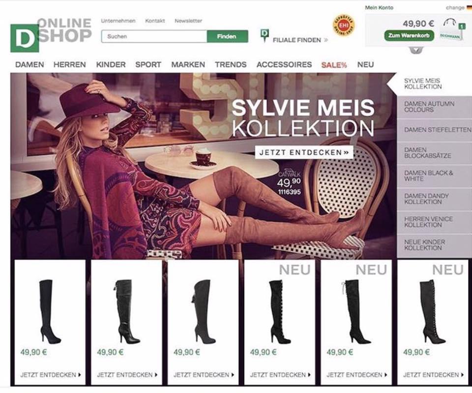 Fashion Fashionettets sylvie By Meis For � Deichmann BodxWQrECe