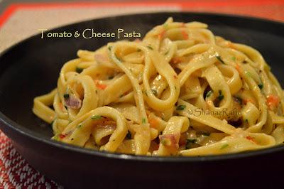 Tomato & Cheese Pasta