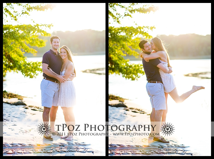 Marshy Point Engagement Photos