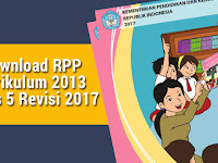 Download RPP Kurikulum 2013 Kelas 5 Revisi 2017