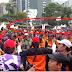 Tersangka mahasiswa Telah mempr0vokator, Demo buruh di Depan Istana 1 mei 2016