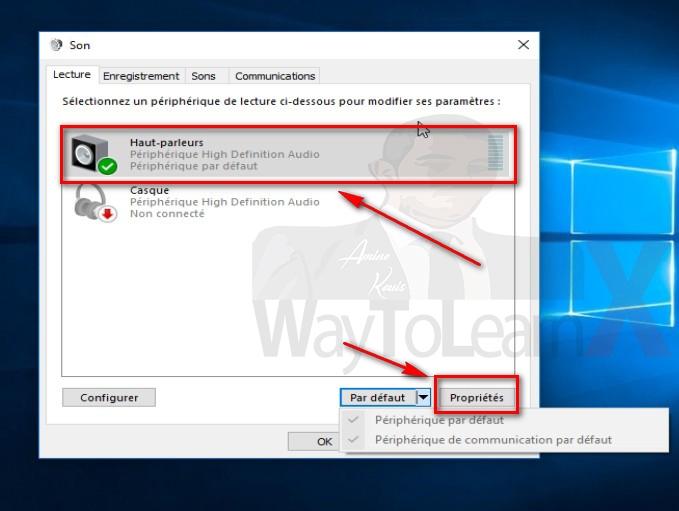 Comment résoudre le problème - Pas de Son - sur Windows 10