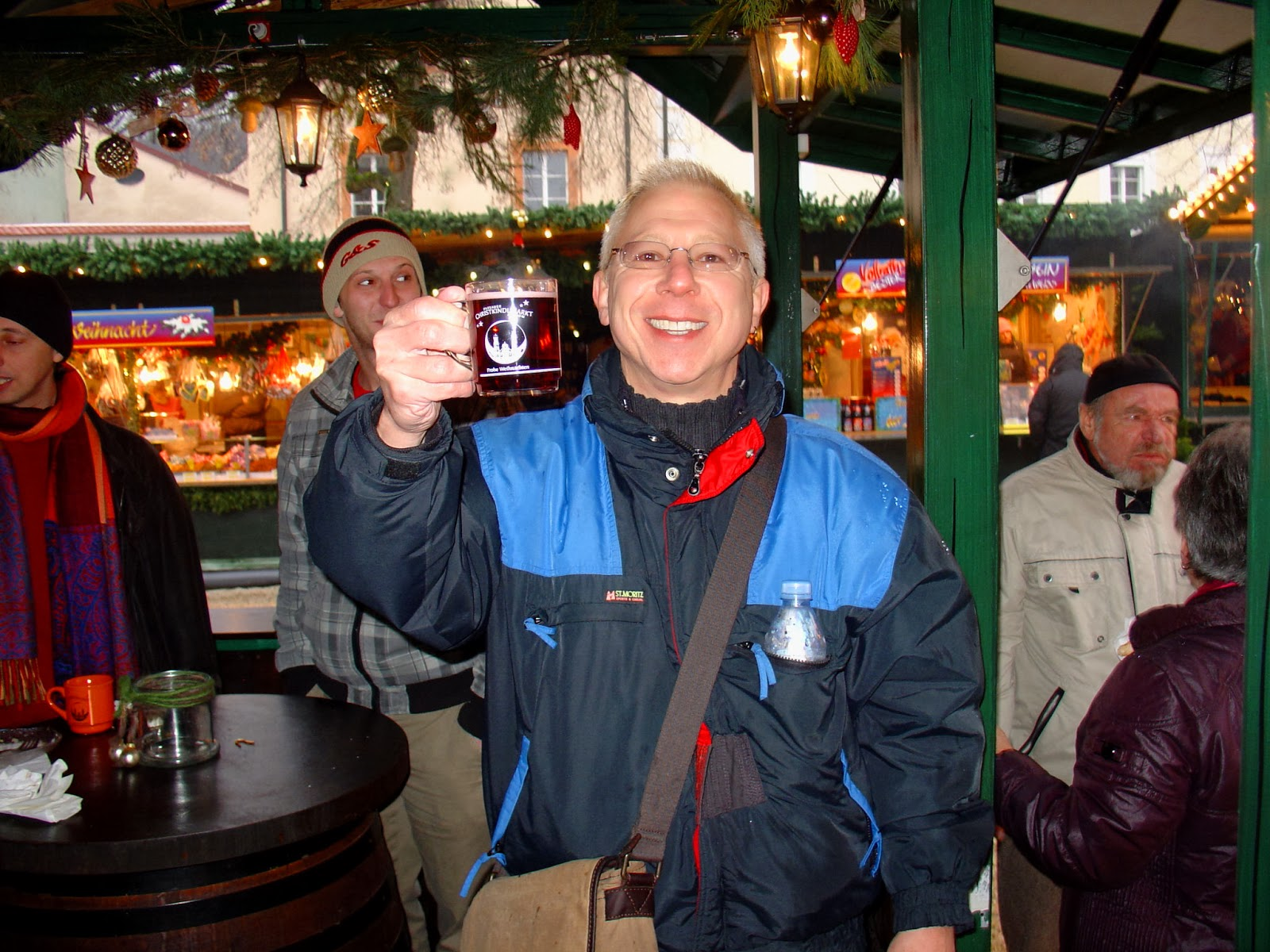 And finally, my first glass of glühwein in Germany.