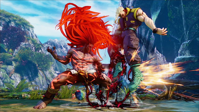 """""""Street Fighter: Arcade Edition"""" Game hành động chiến đấu 2018"""