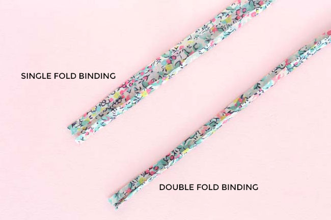 How to make your own bias binding - a cute detail to add to your homemade clothes - Tilly and the Buttons